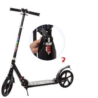 Самокат для взрослых Scooter Urban iTrike SR2-017-B, черный, фото 2