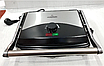 Электрический прижимной контактный гриль с терморегулятором CROWNBERG CB-1067 2000W, фото 3
