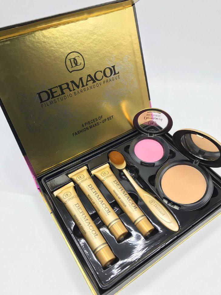 Тональный крем для лица Dermacol набор 6in1