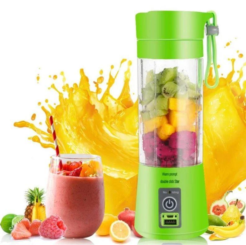 🔥 Фитнес блендер шейкер Smart Juice Cup Fruits USB для коктейлей и смузи