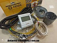 Нагревательный резистивный кабель In-therm для обогрева пола , 3,2 м2 (Супер цена с програматором Е-51(640 вт)