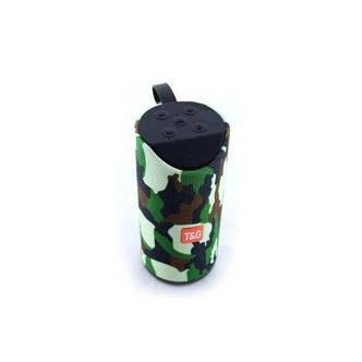 Портативная bluetooth колонка MP3 плеер SPS TG113 Camo, фото 2