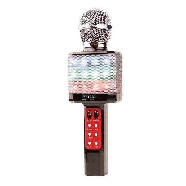 Караоке-микрофон портативный DM WS-1828, черный
