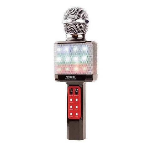 Караоке-микрофон портативный DM WS-1828, черный, фото 2