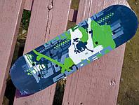 Распродажа! Мини скейт борд детский для девочек и мальчиков SKATING 43-13см клен (I7 F-22223 2)