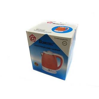 Электрочайник Domotec MS-5022 чайник 2L Orange, фото 2