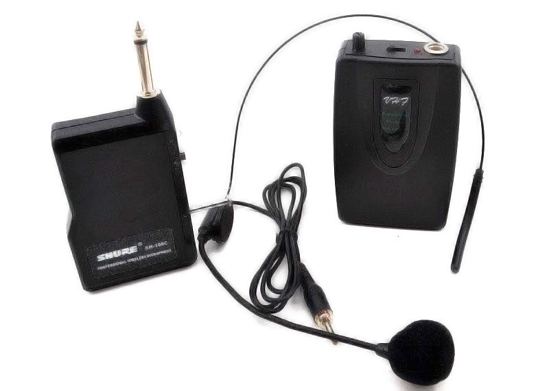 Радиомикрофон головной беспроводная гарнитура для радиосистемы Max WM-707