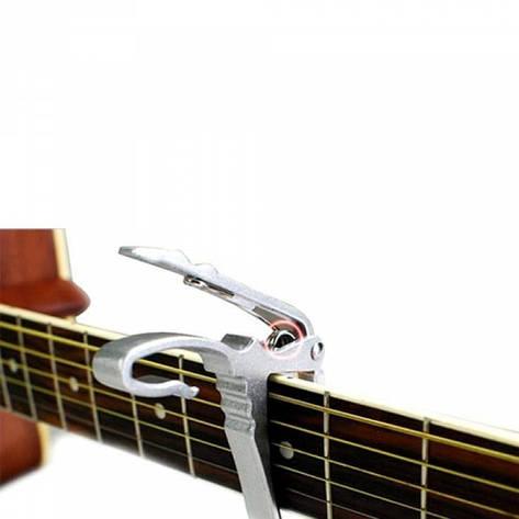Каподастр для гитары, триггер, капо, зажим, прищепка, металл, фото 2
