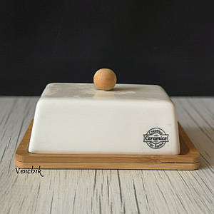 Масленка керамическая Ceramics 14,5х11,5 см