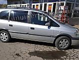 Дефлекторы окон, Ветровики Opel Zafira A 1999-2005 (Hic), фото 2