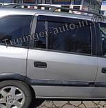 Дефлекторы окон, Ветровики Opel Zafira A 1999-2005 (Hic), фото 3
