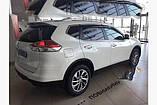 Вітровики з хромом, дефлектори вікон Nissan X-Trail/Nissan Rogue (T-32) 2014-, фото 2