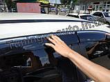 Вітровики з хромом, дефлектори вікон Nissan X-Trail/Nissan Rogue (T-32) 2014-, фото 8
