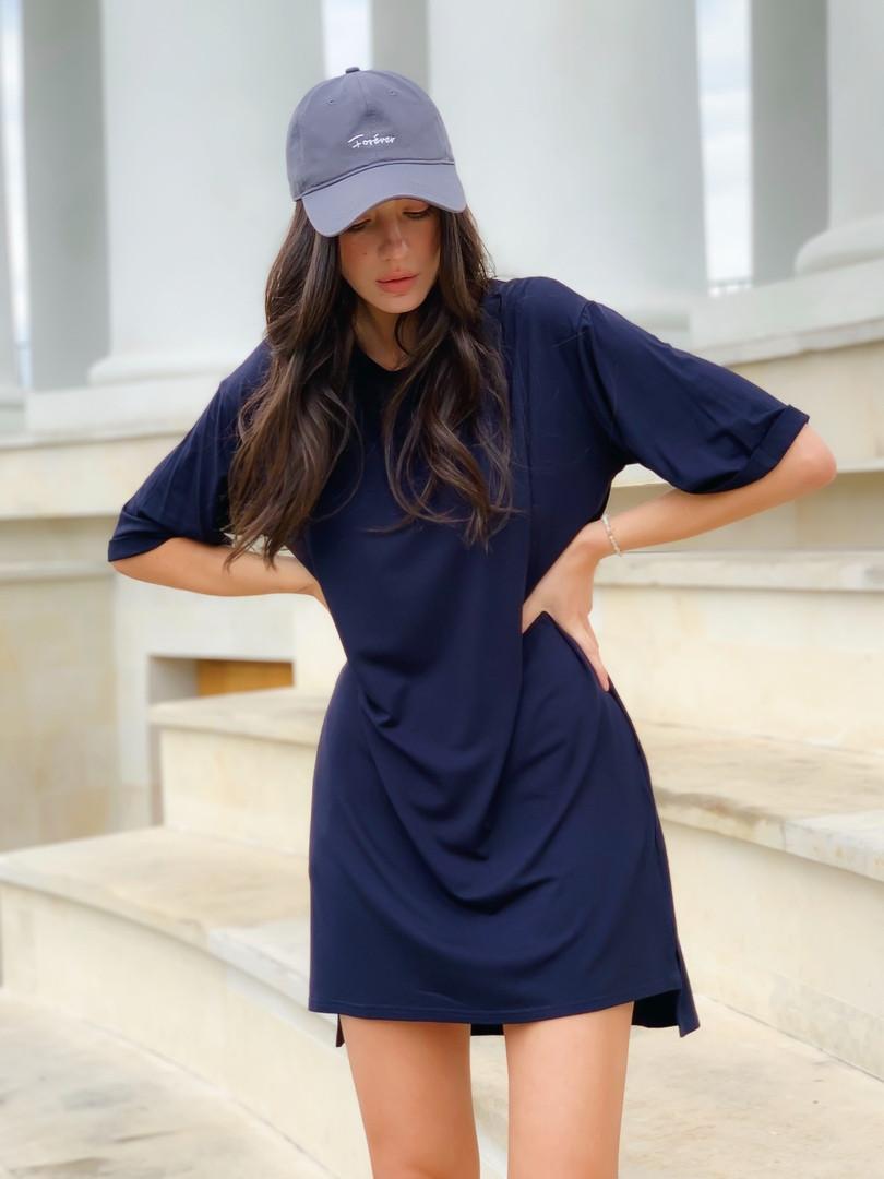Платье футболка туника oversize