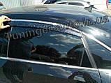 Дефлекторы окон с хром молдингом, ветровики Volkswagen Passat B7/B8 американец 2011-2018, фото 5