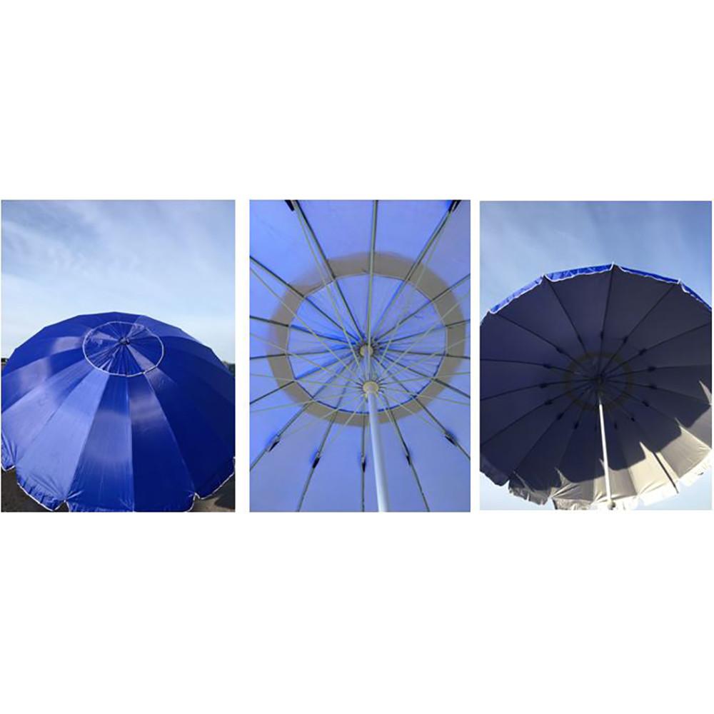 Зонт пляжный RB-9310 3м + ПОДАРОК: Настенный Фонарик с регулятором BL-8772A