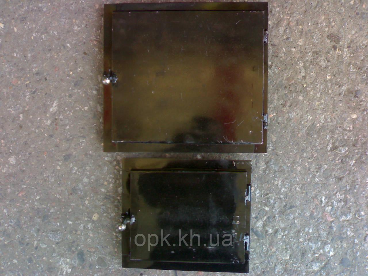 Дверца металлическая на печь