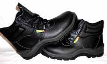 Спец обувь кожаная с метал носком рабочая Bicap Италия