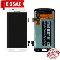 Модуль (сенсор + дисплей) для Samsung G925F Galaxy S6 Edge AMOLED белый