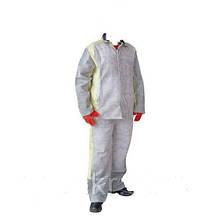 Костюм сварочный замшевый Спец одежда для сварщиков