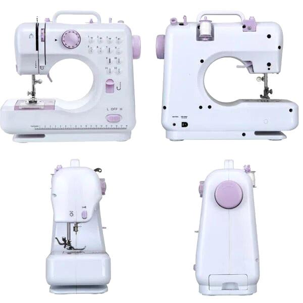 Домашняя швейная машинка №705 FHSM-505 12 в 1 + ПОДАРОК: Держатель для телефонa L-301