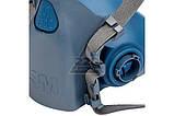 Полумаска силиконовая респиратор 3М 7502 М, фото 3