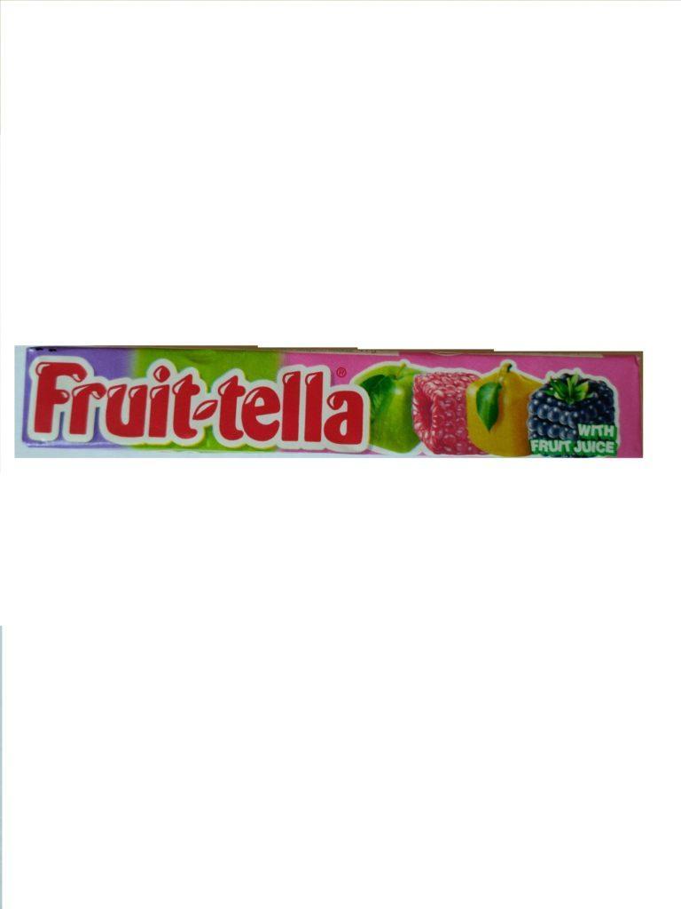 """Жувальні цукерки Fruit-tella """"Фруктовий сад"""" зі смаком груші, малини, ожини, яблука"""
