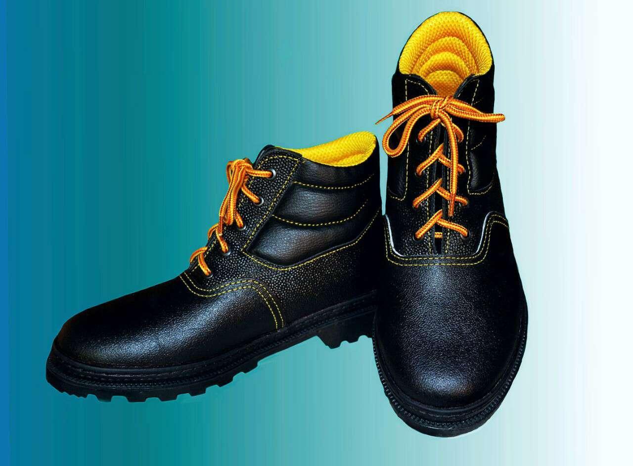 Ботинки рабочие клее прошивные юфть