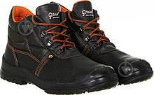 Ботинки рабочие кожаные Талан без мет носка