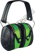 Наушники шумозащитные 32dBзелёные усиленный наголовник