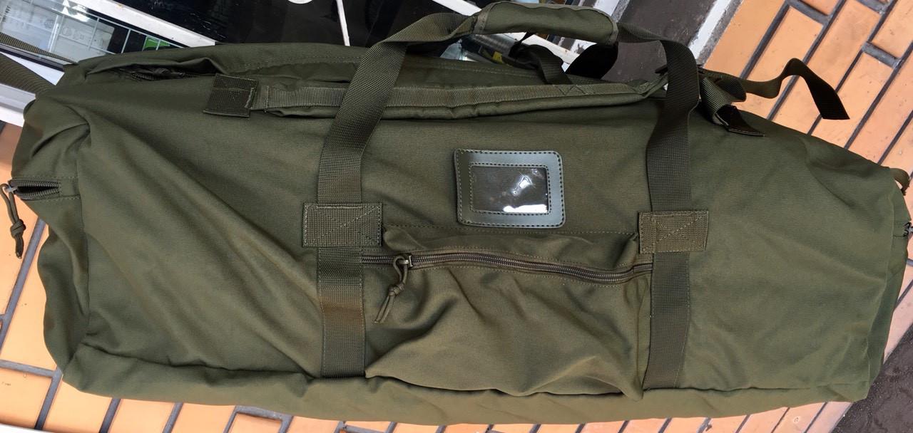 Сумка-рюкзак Тактичний олива 100л