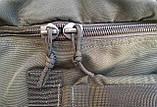 Сумка-рюкзак Тактичний олива 100л, фото 4