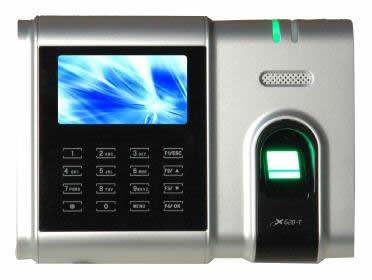 Биометрический счетчик рабочего времени ZKTeco X628-TC