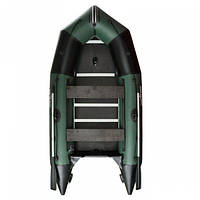 Килевая надувная  лодка AquaStar K-350 (зеленая)