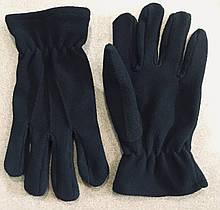 Перчатки Флисовые Черные