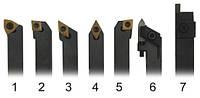 Набор из 7 токарных державок, резцов 10мм для токарного станка