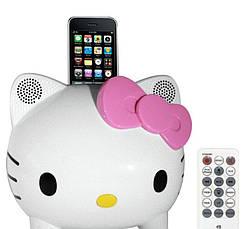Колонка Hello Kitty стерео акустическая система портативная, фото 2