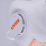 Респіратор Uvex 2210 FFP2 c клапаном Продається по упаковкам в упаковці 15шт Original, фото 3