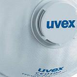 """Маски защитные с клапаном """"Uvex 2110"""" FFP1 В упаковке 15шт Оригинал продается кратно упаковку 15шт, фото 2"""