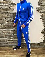 Спортивный костюм мужской Adidas Petal blue