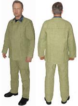 Костюм сварщика брезентовый, огнестойкий,куртка и брюки
