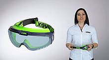 Окуляри захисні Uvex Ultrasonic