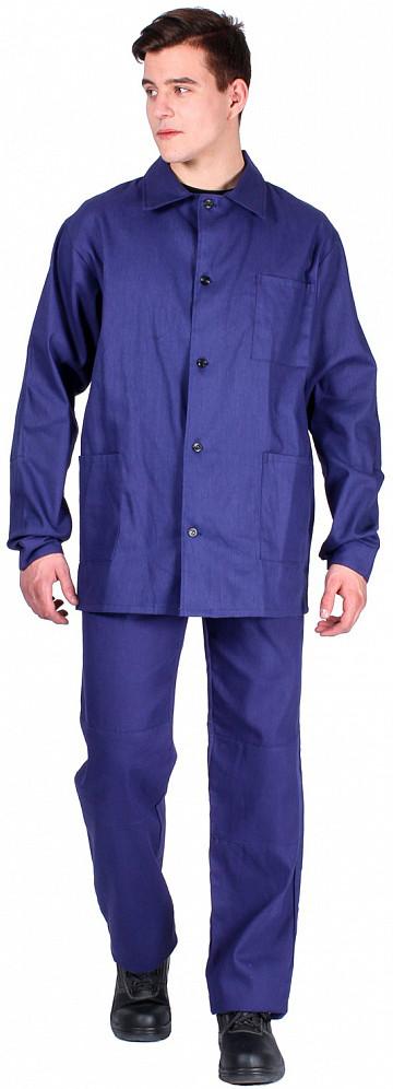 Костюм Робочий посилений (мк.Діагональ,195) штани, т. синій