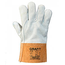 Краги сірого кольору Trident Grafit