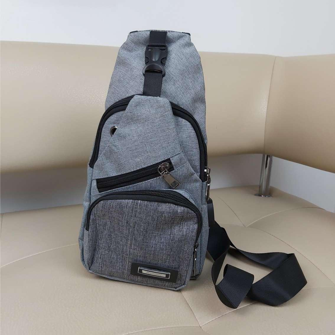 Однолямочный рюкзак-бананка для подростков 32*18,5*12 см