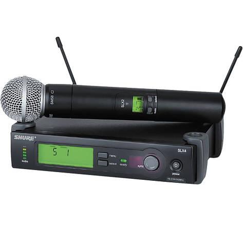 Беспроводной микрофон DM SLX/X4 SHURE D1031, фото 2