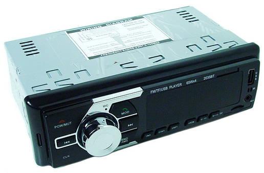 Автомагнитола MP3 2035 ISO с Bluetooth, фото 2