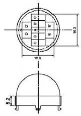 Инфракрасный датчик движения HC-SR501 для Arduino (111357), фото 2