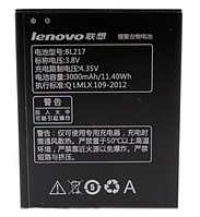 Аккумулятор Lenovo BL217, 3000mAh (батарея, АКБ)