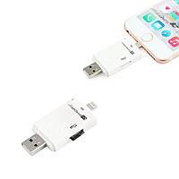 USB SD TF кардридер кард-ридер iFlash для Apple (51081)